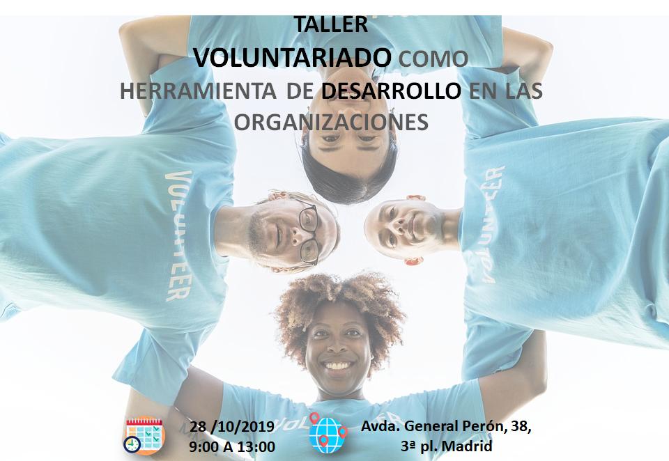 Desarrollo de personas a través de voluntariado social