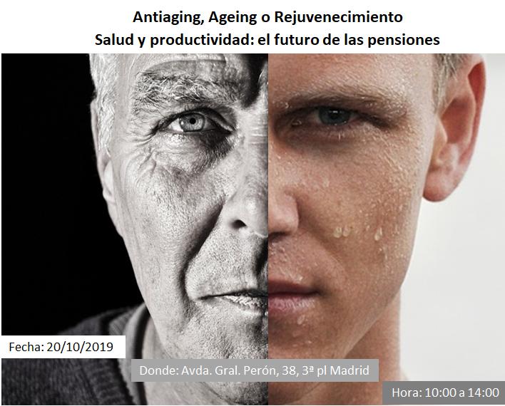 Antiaging, Ageing y Rejuvenecimiento